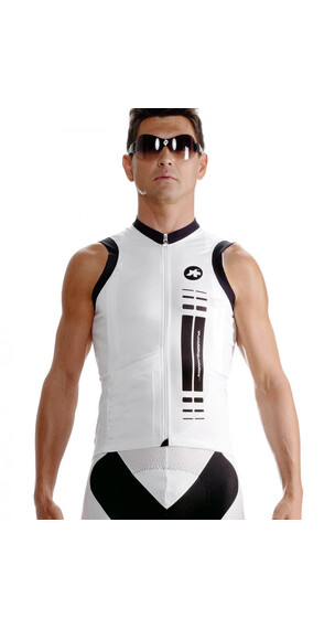 assos NS.superLeggera Mouwloze jersey Heren wit